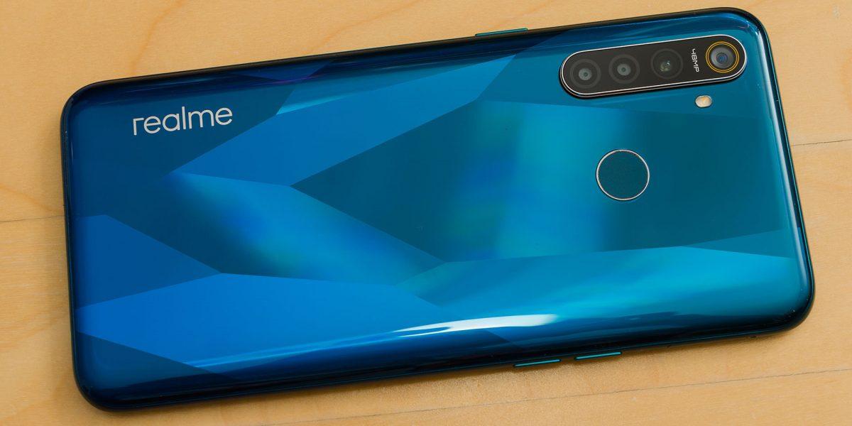 Realme 5 smart phone